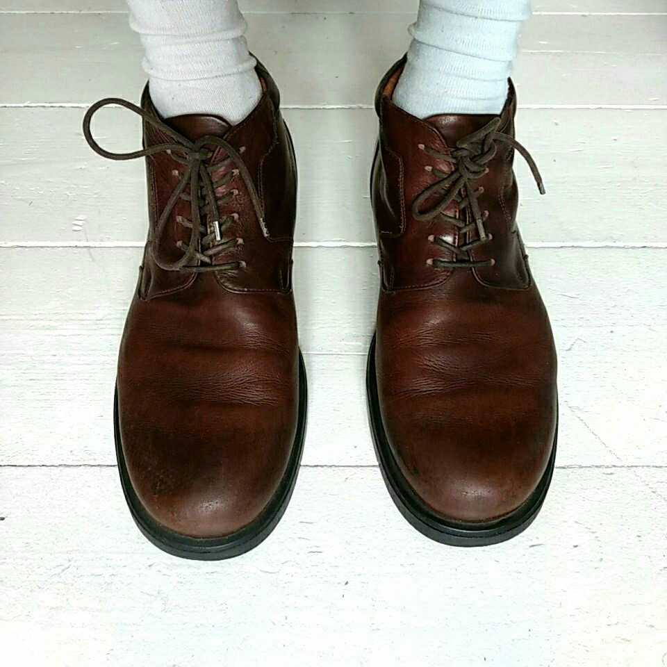 Vintage lædersko
