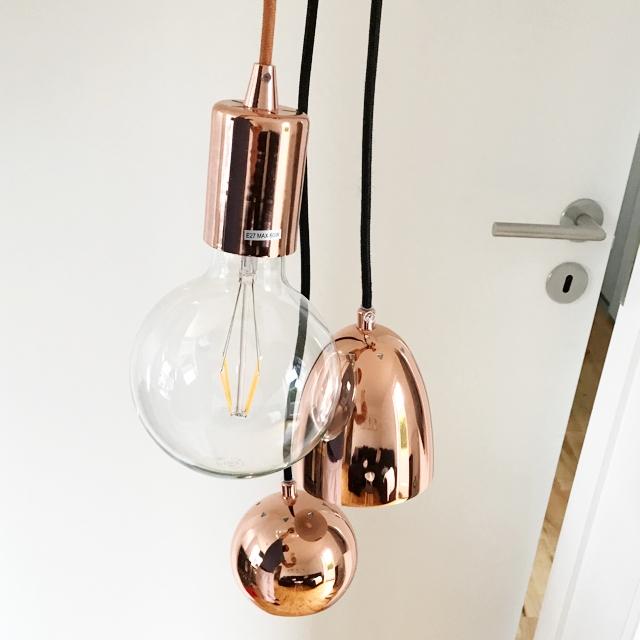 Kobber lamper