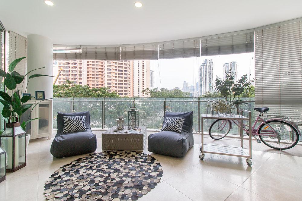 Uncloud Productions Interior Photography Balcony Portfolio