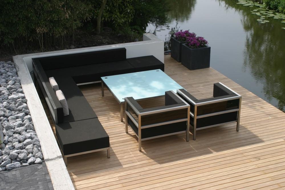 Design buitenmeubelen   Ontworpen en gemaakt in Nederland