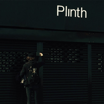 Plinth shop front
