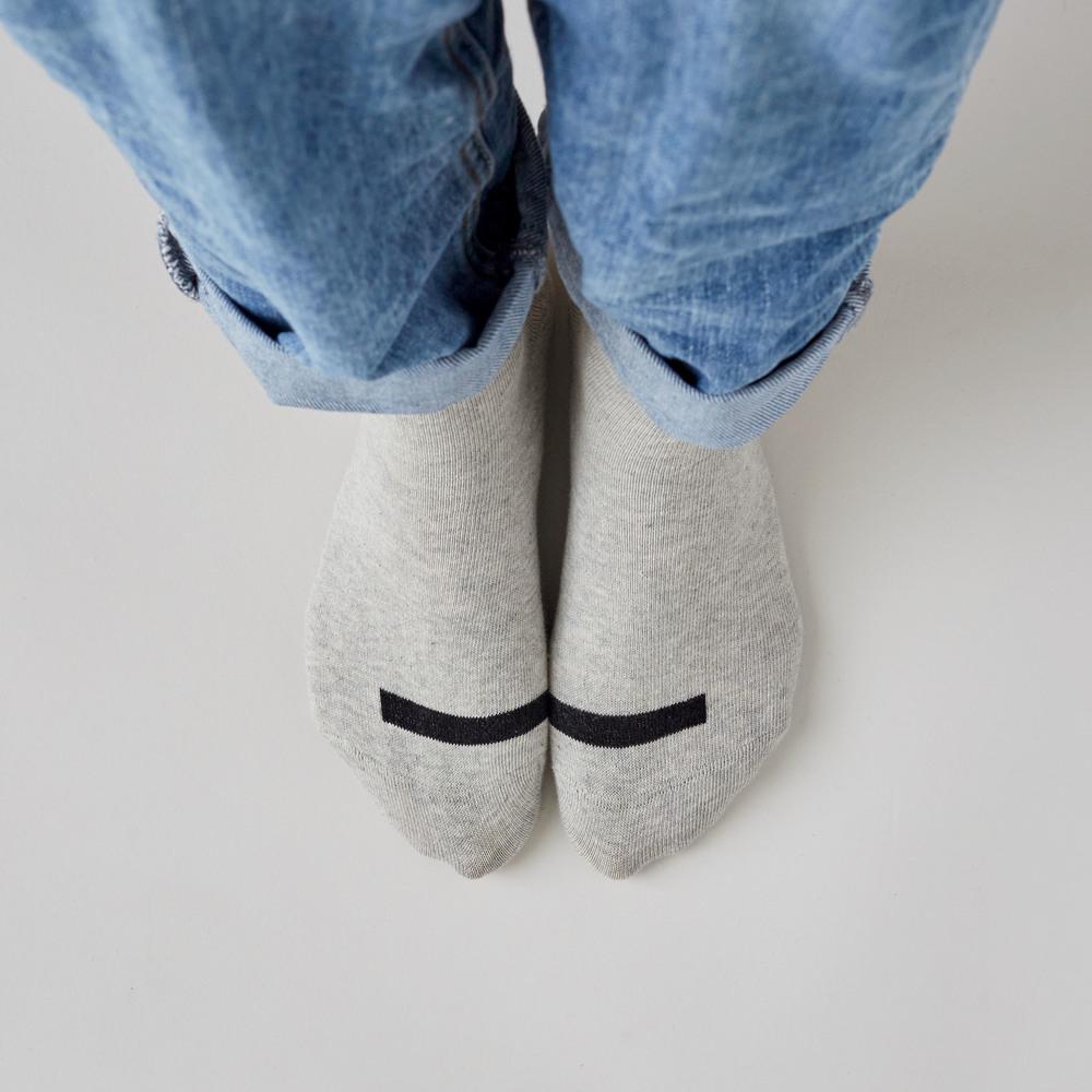 Above and Beyond Together socks grey marl light womens_lifestyle.jpg