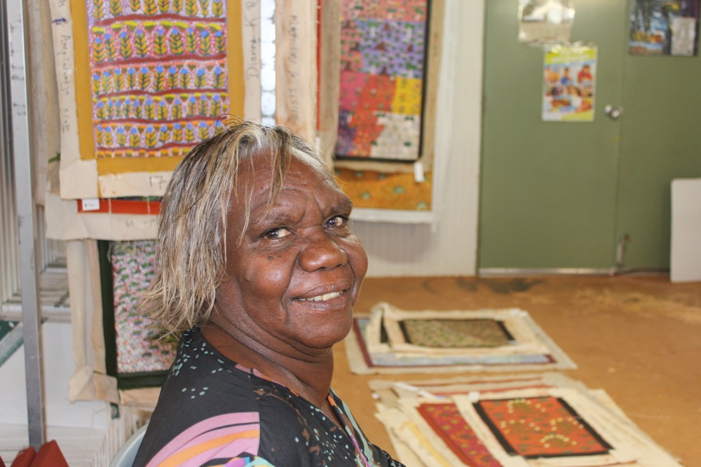 Bay Gallery Home, Australian Aboriginal Art, Wallpaper, Tiles, Rugs, Tables & Accessories. Artists.