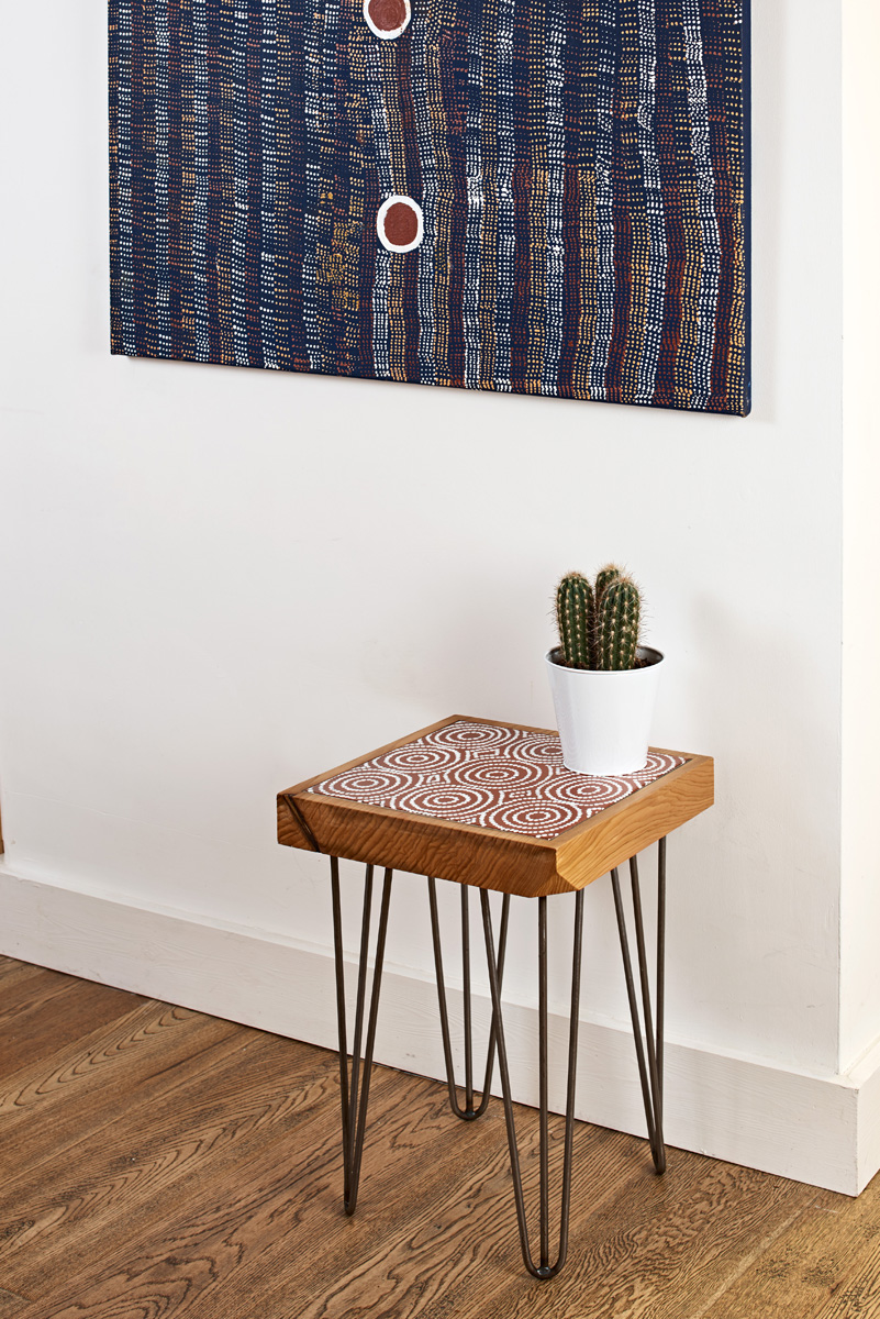 Wonderful Bay Gallery Home   My Country Table Australian Aboriginal Art UK Central  Desert Made In The