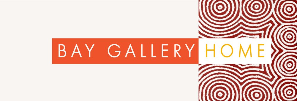 Bay Gallery Home, Australian Aboriginal Art, Wallpaper, Tiles, Rugs. Design with Origin.