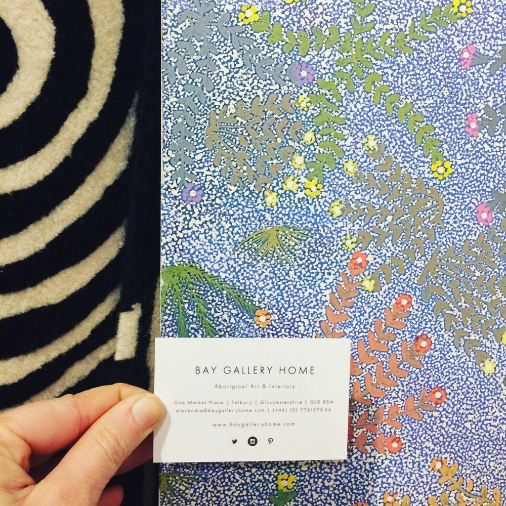 'BUILDING PIECES' PRESS REVIEWS BAY GALLERY HOME'S AUSTRALIAN ABORIGINAL WALLPAPERS, RUGS & TILES INTERIORS COLLECTION AS SEEN AT SURFACE DESIGN 2017.