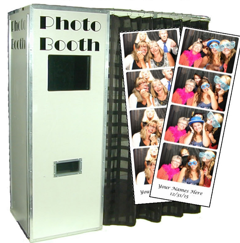 The Classic - The Classic PhotoBooth is our original and most popular photobooth option!$595