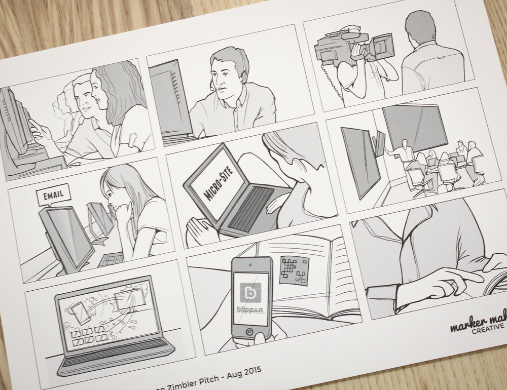 Storyboard Illustration