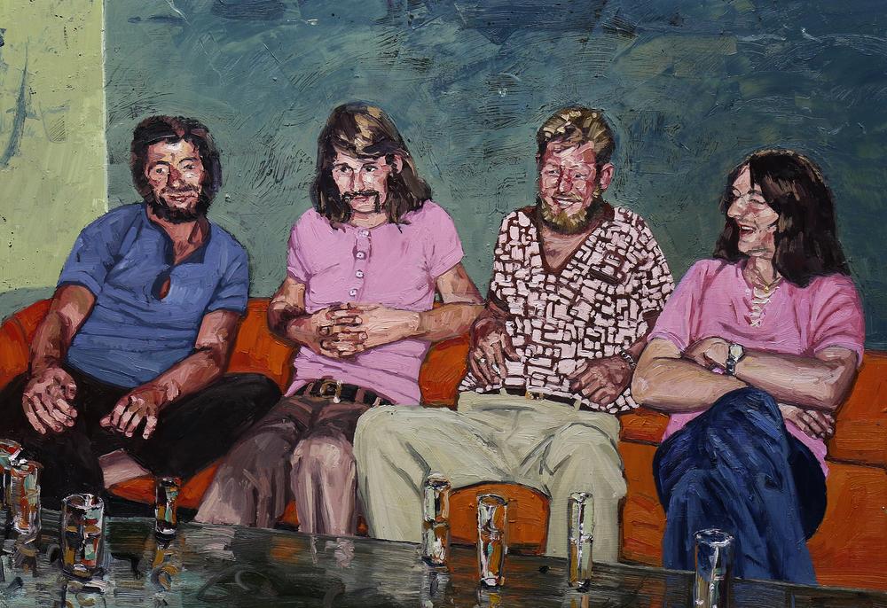 Brødrene Håtveit | Olje på lerret | 115x150 cm | Privat eie