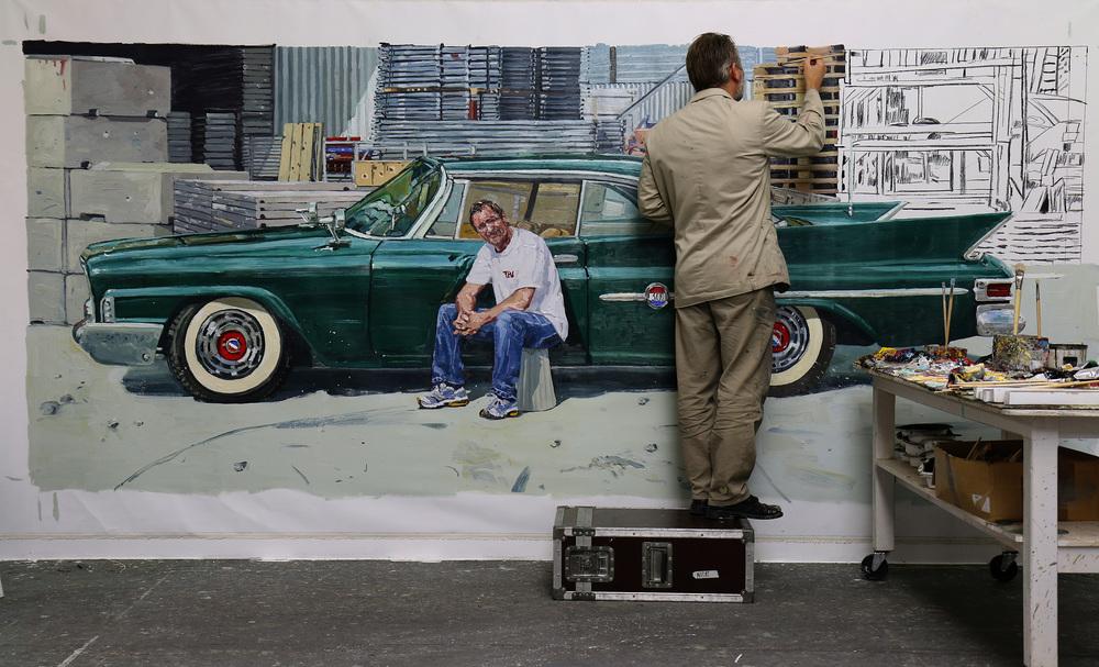 """""""Chrysler 1961"""" under arbeide."""