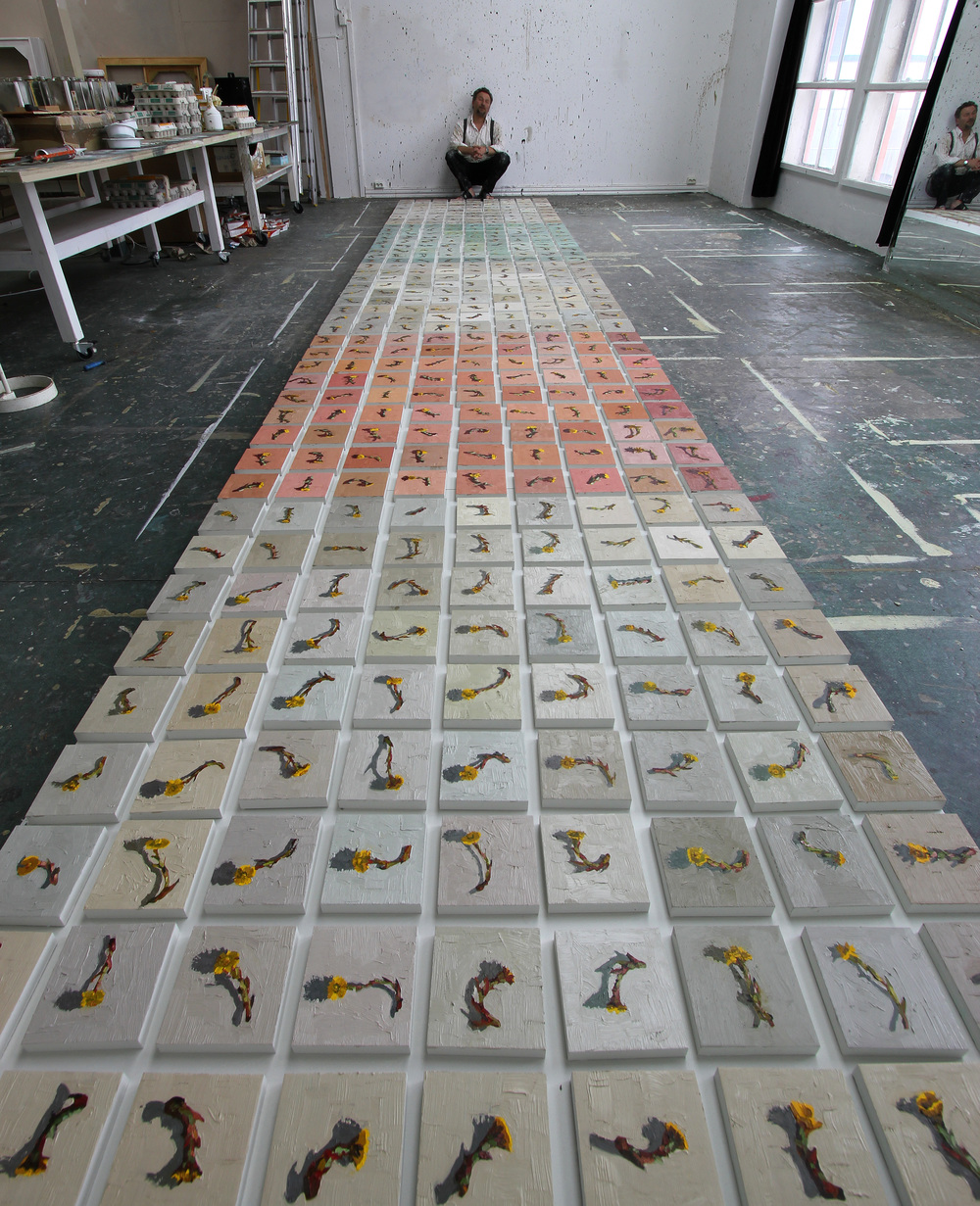 Utsmykking til Alex Sushi 170x800 cm.