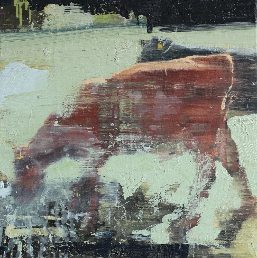 Kalver | 60x60 cm | Eggoljetempera på lerret | Privat eie