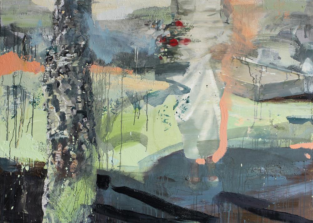 Primavera | 115x160 cm | Eggoljetempera på lerret | Privat eie