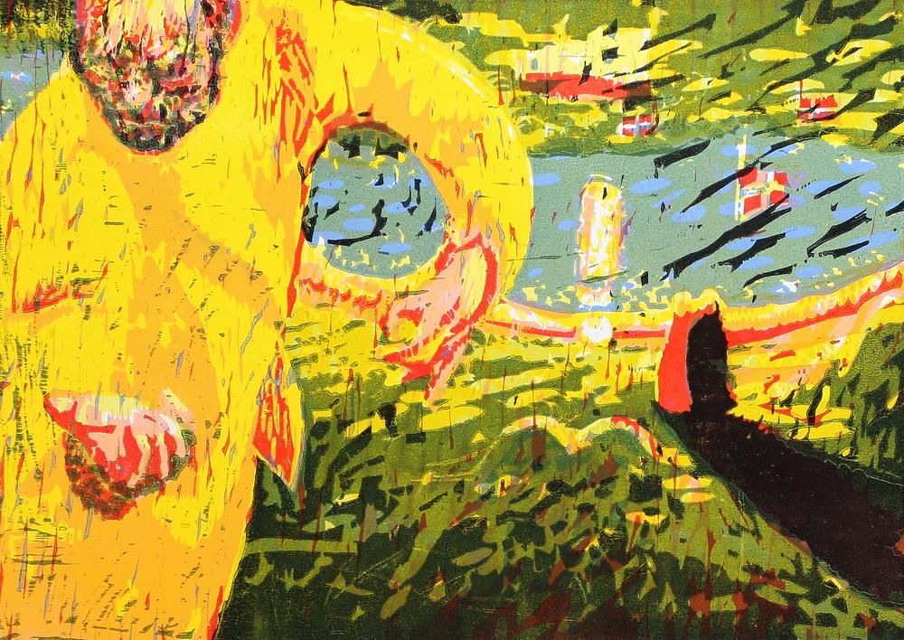 Mysterier | Tresnitt | 35x49 cm | kr. 3 500,-
