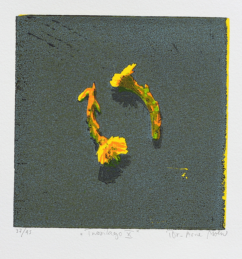 Tussilago X | Tresnitt | 15x15 cm | kr. 600,-