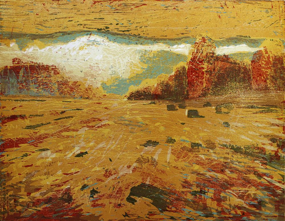 Sky | Tresnitt | 69x53 cm | kr. 4 200,-