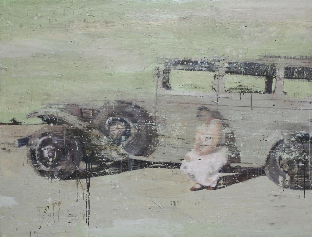 Sommeren 1934 | 120x160 cm | Eggoljetempera på lerret | Privat eie