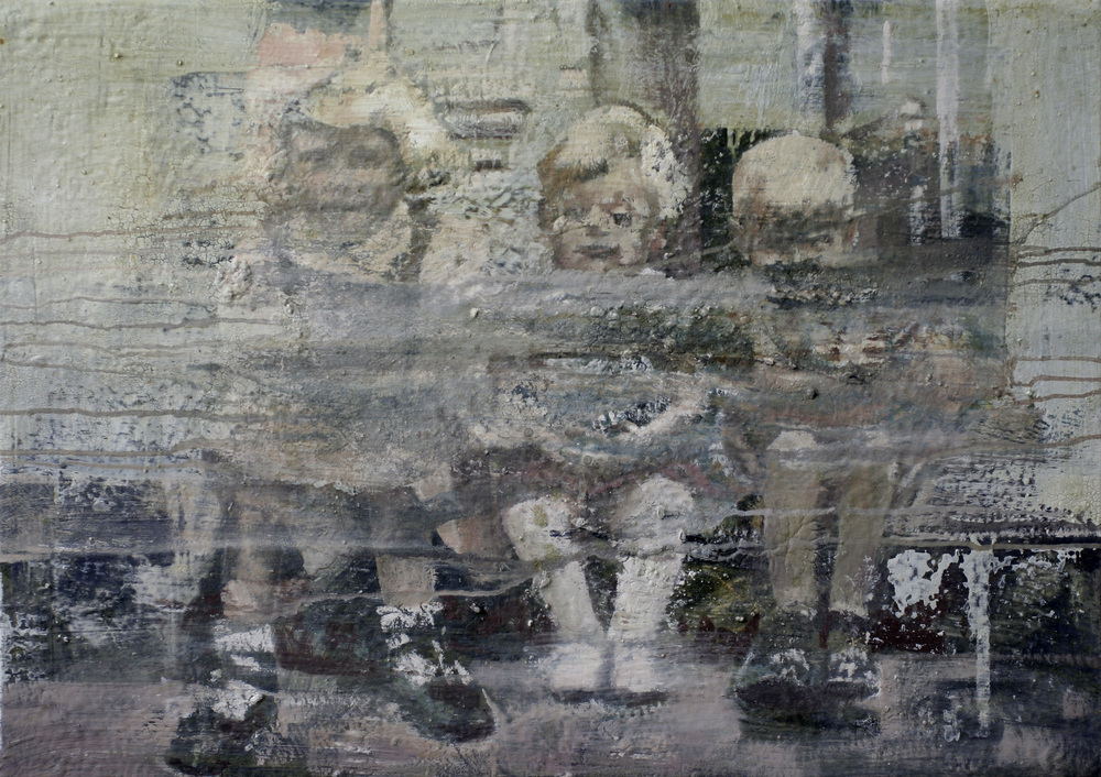 Albumbilde I | 86x61 cm | Eggoljetempera på lerret | Privat eie