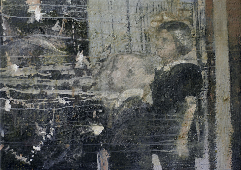Albumbilde II | 86x61 cm | Eggoljetempera på lerret | Privat eie