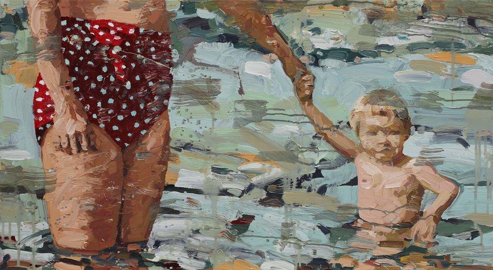 Sommerminne – 55 x 100 cm – Privat eie