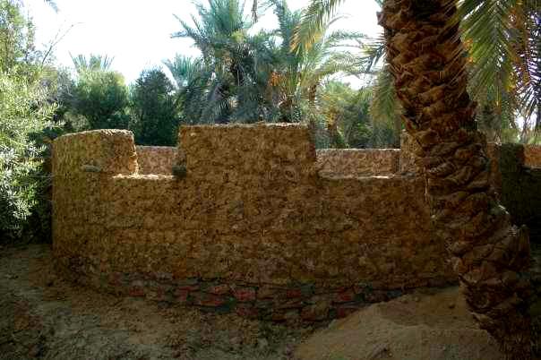 Mud and Kersheef wall