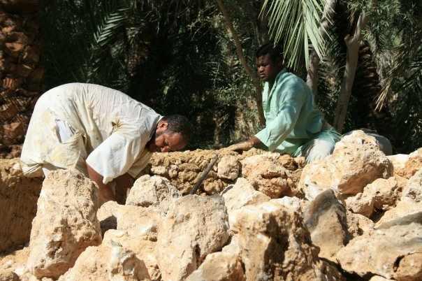 Kersheef salt blocks for building