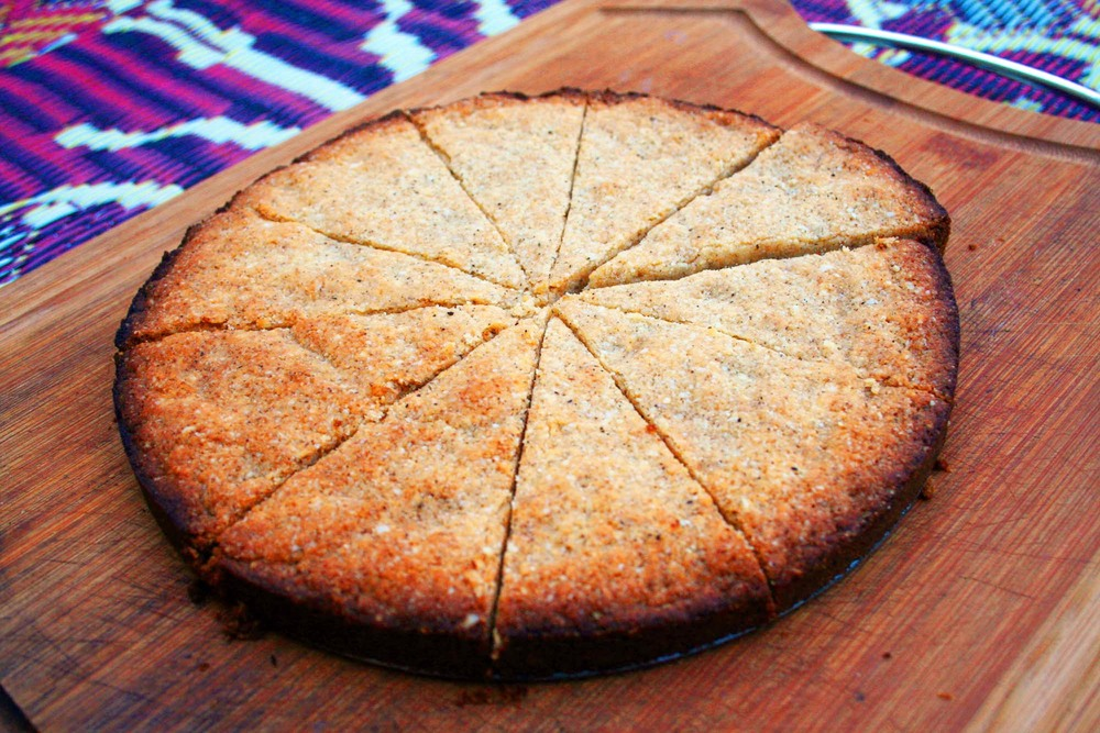 Grain-free shortbread