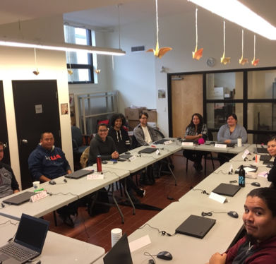 Vancouver Aboriginal Software Tester Training Classroom
