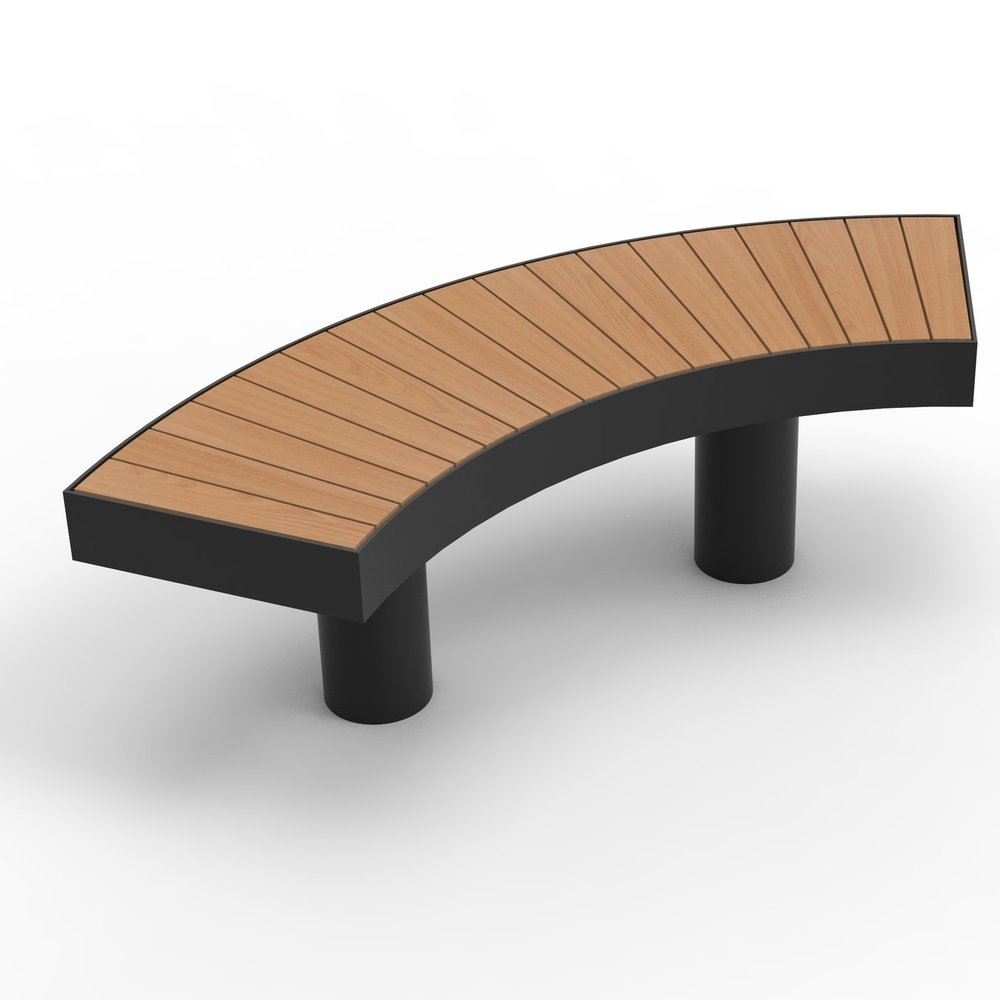 Bench Curved