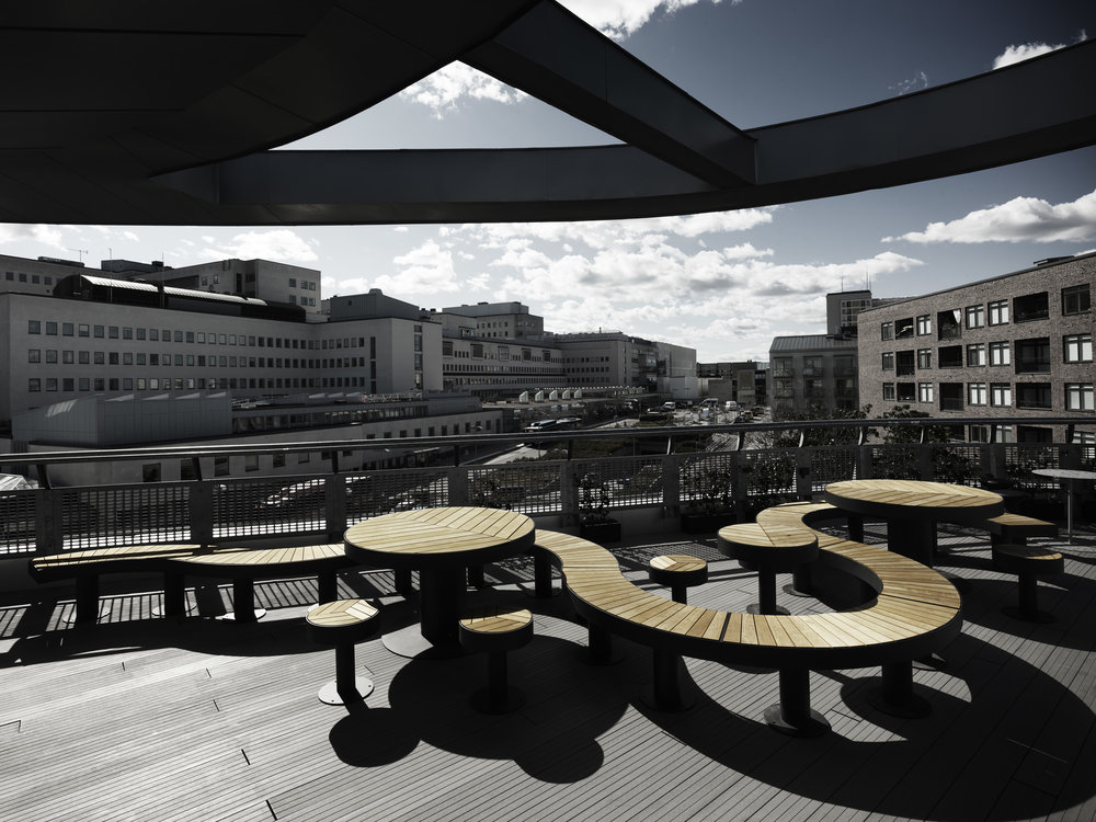 NENT Group (MTG) Roof Terrace -