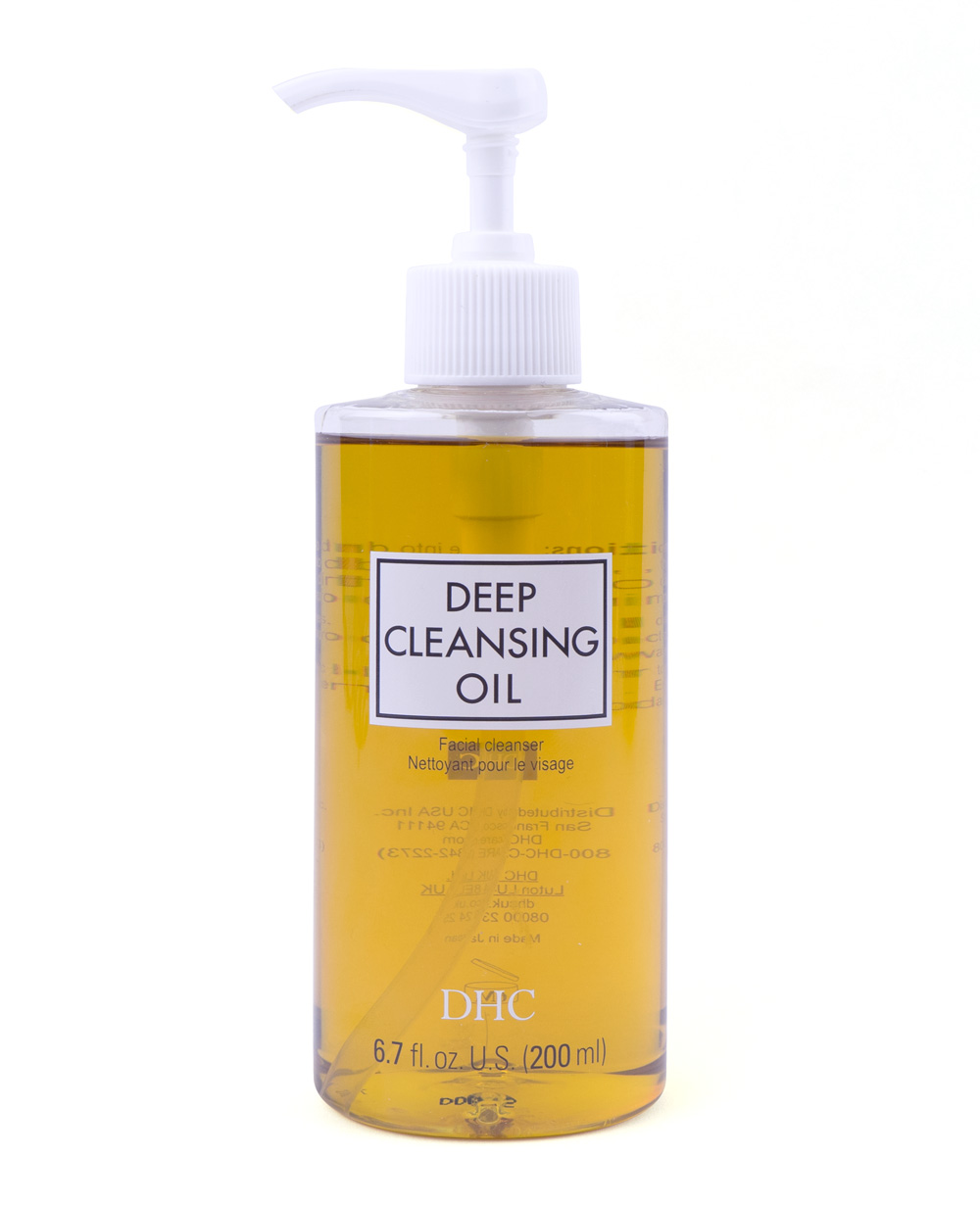 DHC Deep Cleansing Oil ($28;     dermstore.com  )