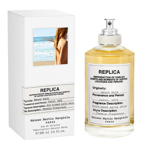 Replica Beach Walk  EDT from Maison Margiela (This warm-weather scent is also available in a  candle , which makes me super happy.)
