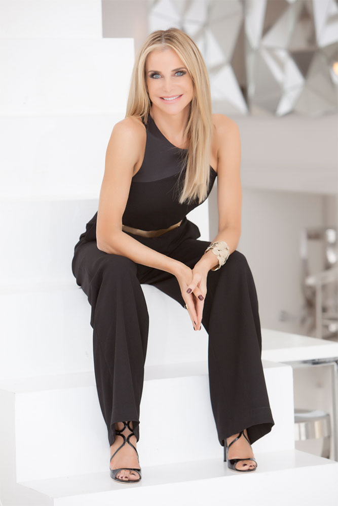 Janna Ronert, founder and CEO of IMAGE Skincare, based in Palm Beach, Florida