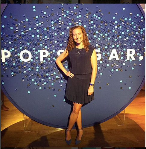 Lisa, last year, at a POPSUGAR event