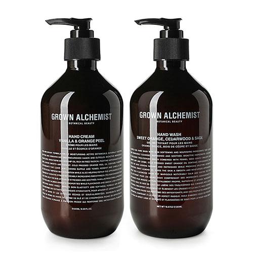 Grown Alchemist Hand Wash and Cream Set