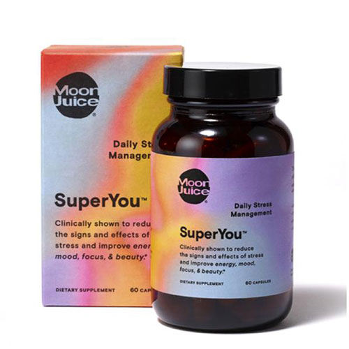 Moon Juice SuperYou  capsules have made me feel a little less edgy.