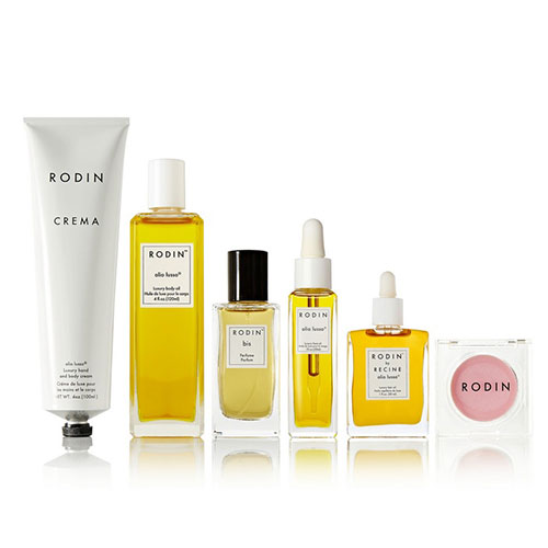 Rodin, a covetable skincare collection from stylist Linda Rodin