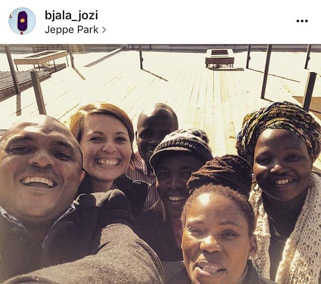 Repost: This is the day the City Parks dream team came to Jeppe Park (upon an invitation from Bjala) and said YES ✅✅✅ to a budget plan to upgrade Jeppe Park!  True to their word they did it!! 👊💥💣🔥⚡️ 07 July, 2016: Yesterday the Johannesburg City Parks and Zoo dream team came to visit Jeppe Park to understand better the value of this great public space community asset and get to know some of the users and custodians of the park. They thought it was AWESOME! We couldn't agree more! Watch this space. 🌱🍀🍂🍃🌍🌞 If you're a resident of Jeppestown, love the park and would like to be part of a community team that cares for the park, please email community@bjala.co.za  #JCPZ #cityparks #jeppepark #jeppestown #bjala #parklove #publicspace #community #iamjeppe #bjalaneighbourhood #team #action