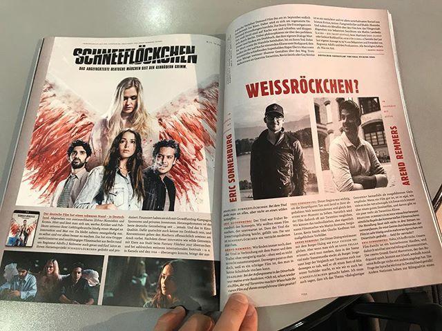 Schneeflöckchen mit 3 Seiten Artikel & Interview in der aktuellen @deadlinedasfilmmagazin 😍🤘🏼 #deadlinedasfilmmagazin #schneeflöckchenfilm #snowflakefilm  DANKE MANU ❤️ @der.manu.musik