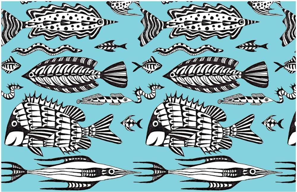 League Fish Patterns Patternistas Adorable Fish Patterns