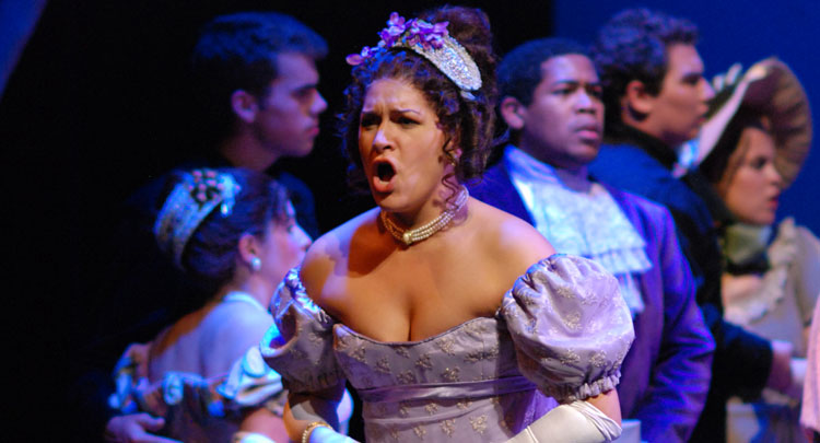 Tatiana in Eugene Onegin