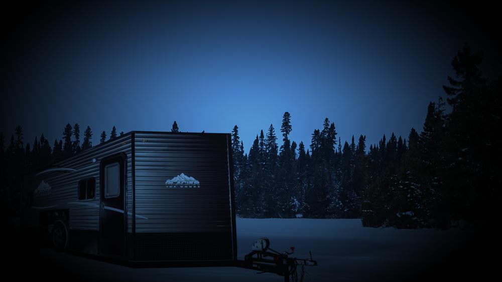 Glacier ice house minnesota built ice fishing trailers for Glacier fish house