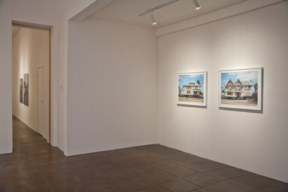 2012,  Saudade , gallery installation, Ann 330 Gallery, Los Angeles, CA