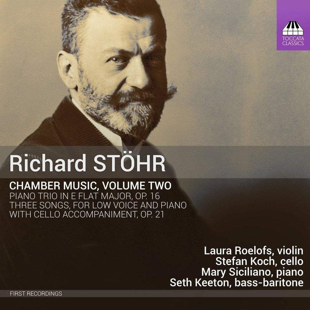 Richard Stöhr: Chamber Music, Vol. 2 -