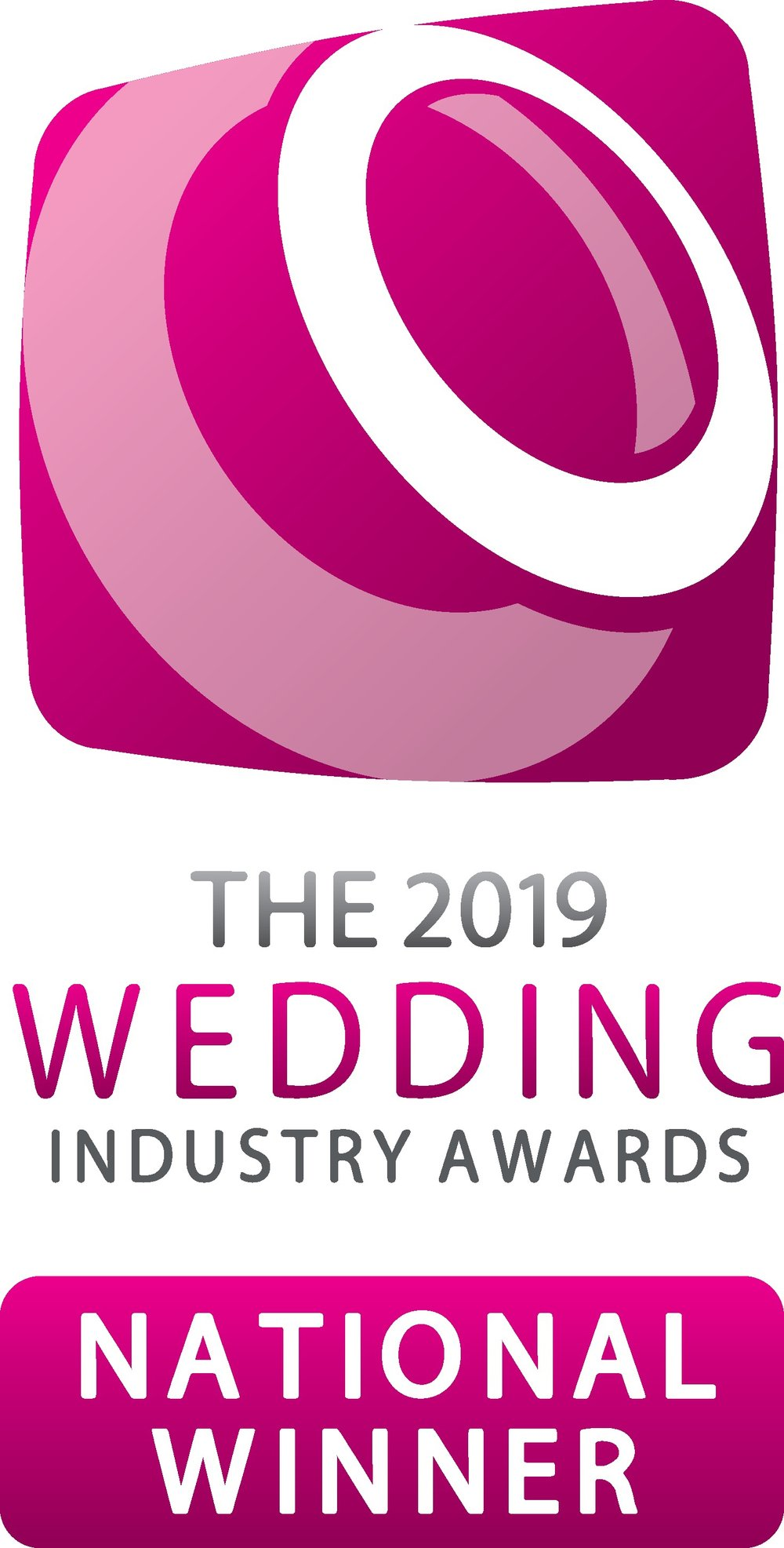 NATIONAL WINNERS OF THE WEDDING INDUSTRY AWARDS 2019 -