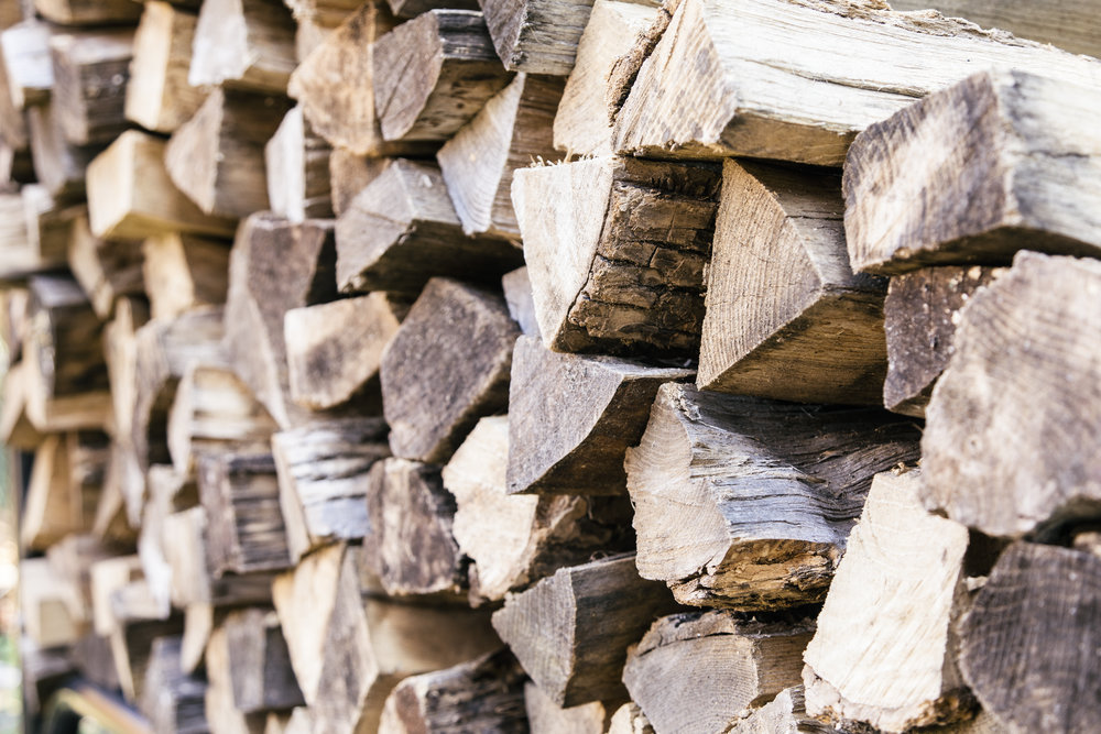 Our services include delivery and stacking of clean, insect-free firewood.
