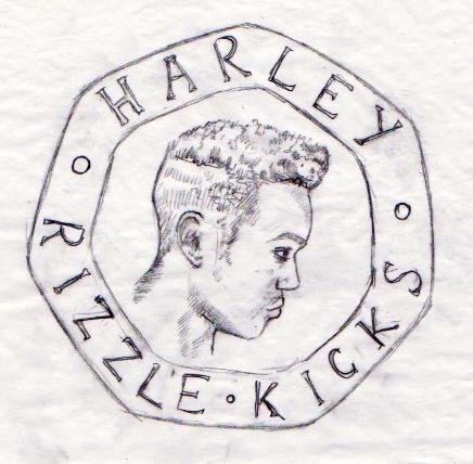 Harley Coin Drawing. 2013.