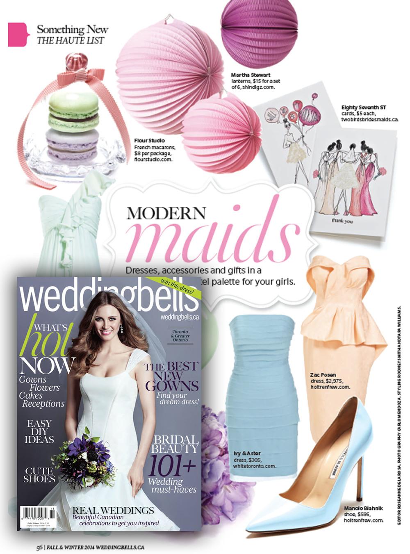 Weddingbells Magazine | Fall 2014