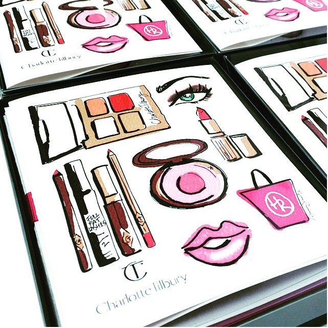 Charlotte Tilbury (custom cards) | 2015