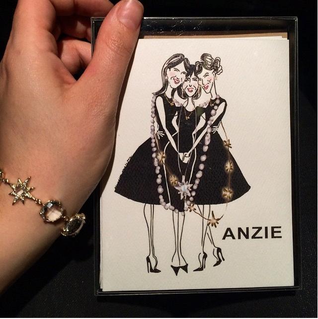 Anzie Jewelry (custom cards) | 2015